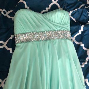 Real prom dress